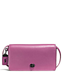 Dinky primrose leather cross body