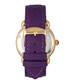Daphne purple leather strap watch Sale - bertha Sale