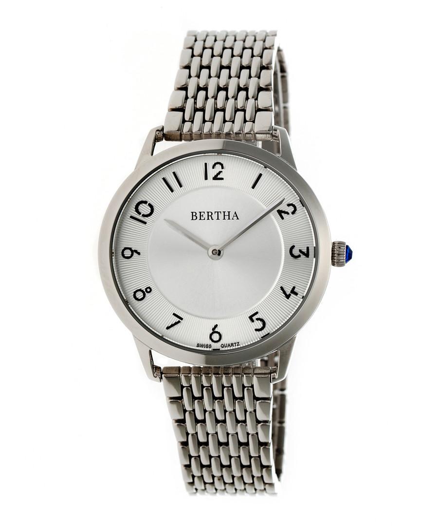 Abby silver-tone stainless steel watch Sale - bertha