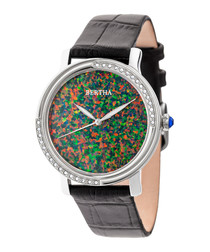 Courtney multi-colour face watch