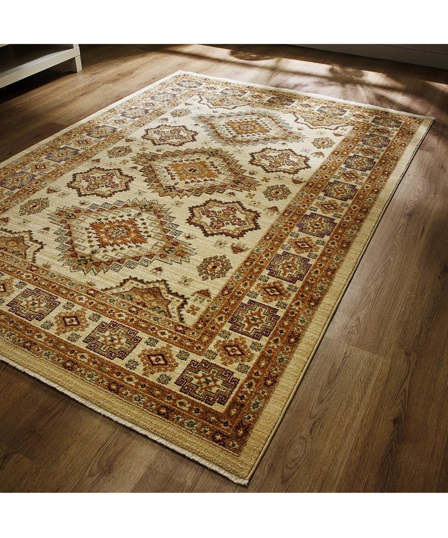 Ahvaz cream & red rug 80 x 150cm Sale - flair rugs