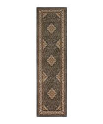 Temple grey print rug 60 x 230cm