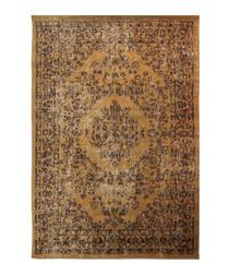 Versaille beige print rug 120 x 170cm