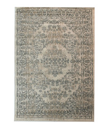 Versaille grey print rug 60 x 110cm