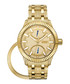 Crowne 18k gold-plated steel watch Sale - jbw Sale