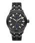 Crowne black stainless steel watch Sale - jbw Sale
