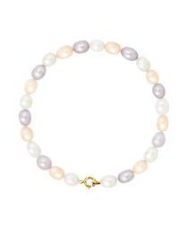 0.5cm multi-colour pearl bracelet