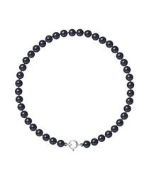 0.4cm black Tahiti pearl bracelet