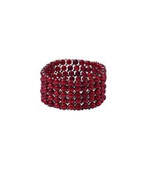 0.3cm cherry red pearl bracelet