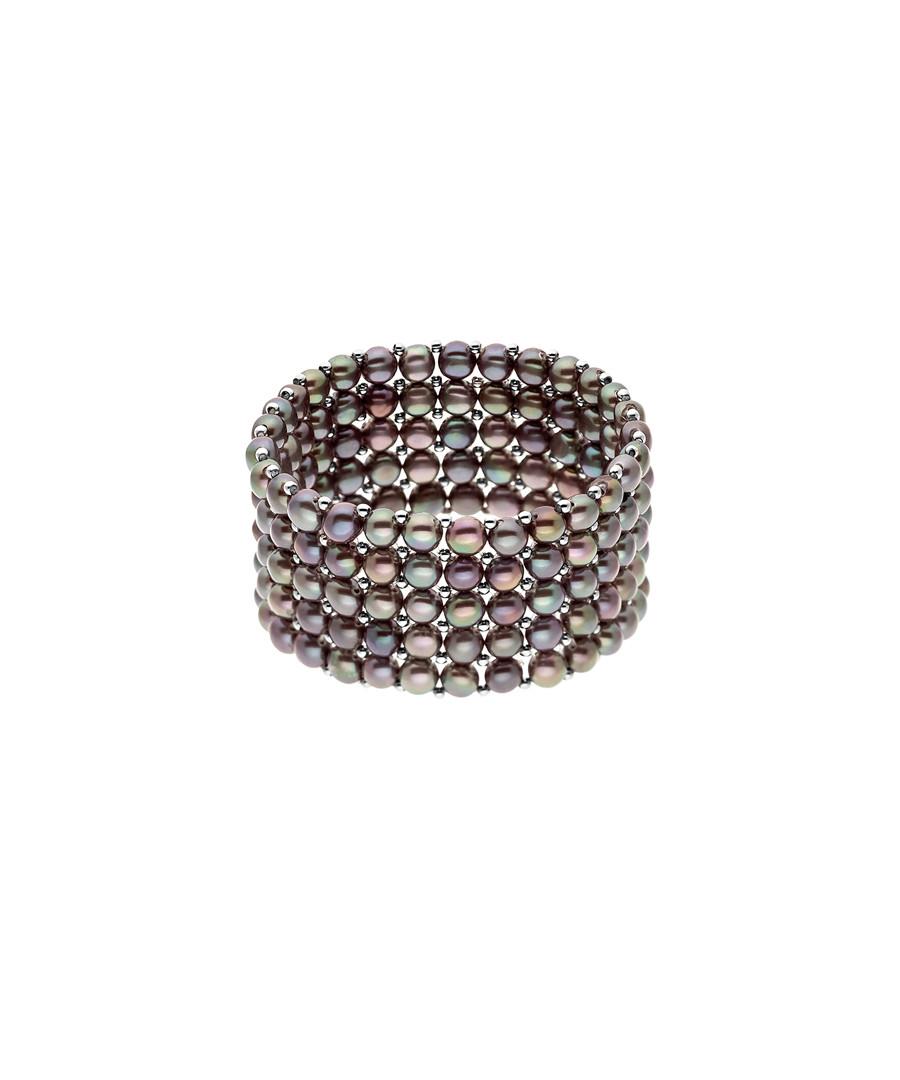 0.3cm black Tahiti pearl bracelet Sale - Royale Des Perles
