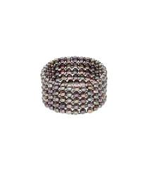 0.3cm black Tahiti pearl bracelet