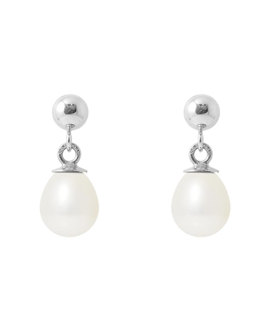 0.6cm white pearl earrings Sale - Royale Des Perles