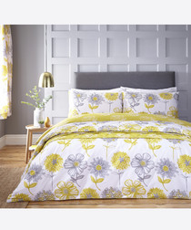 Banbury yellow double duvet set