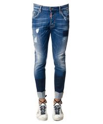 Men's Skater blue cotton jeans