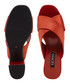 Marley orange leather mules Sale - Senso Sale
