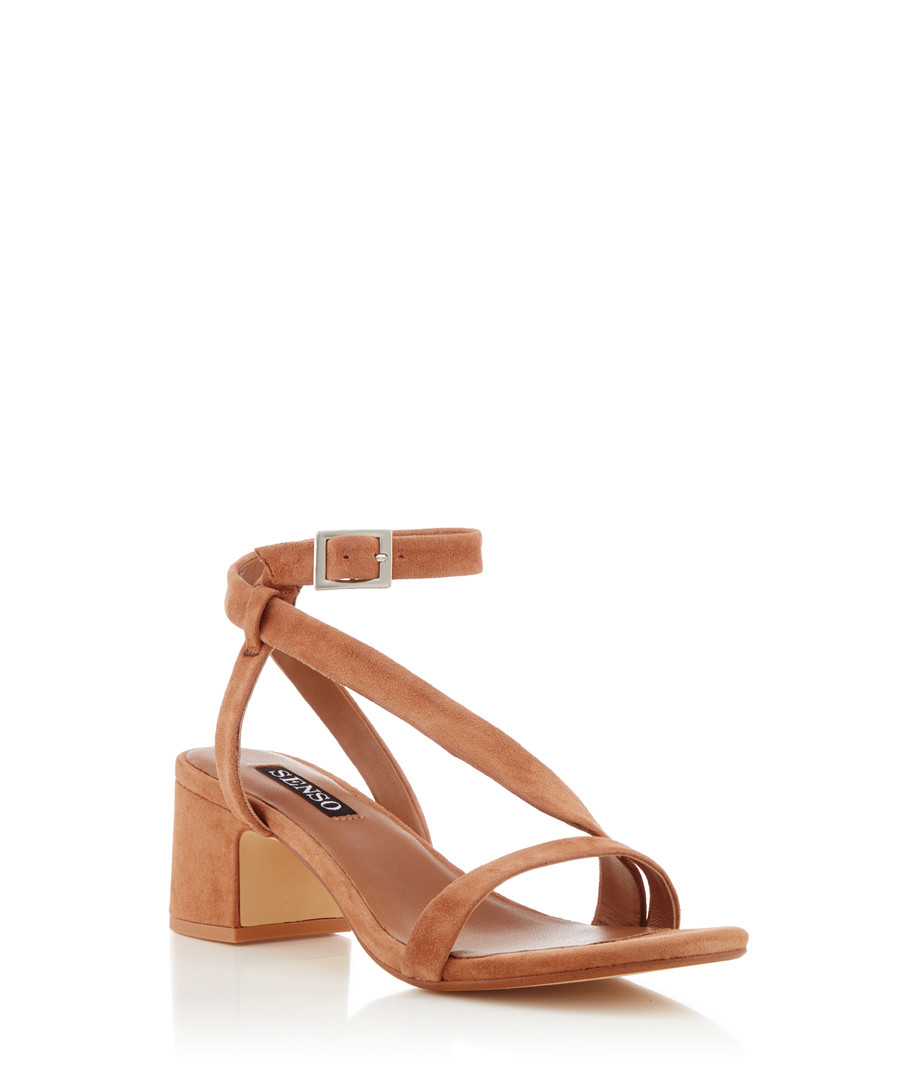 SandalsSecretsales Nio Nude Strappy I Suede Discount E2HI9D