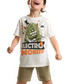 2pc Boy's Electro Monster shorts & top Sale - denokids Sale