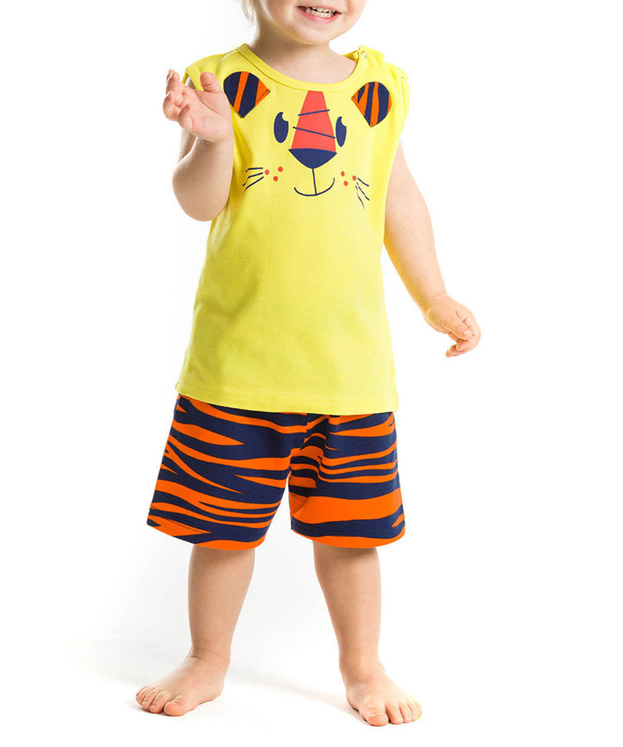 2pc Boy's My Little Tiger shorts & top Sale - denokids
