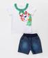 2pc Boy's Hide & Seek top & shorts sey Sale - denokids Sale