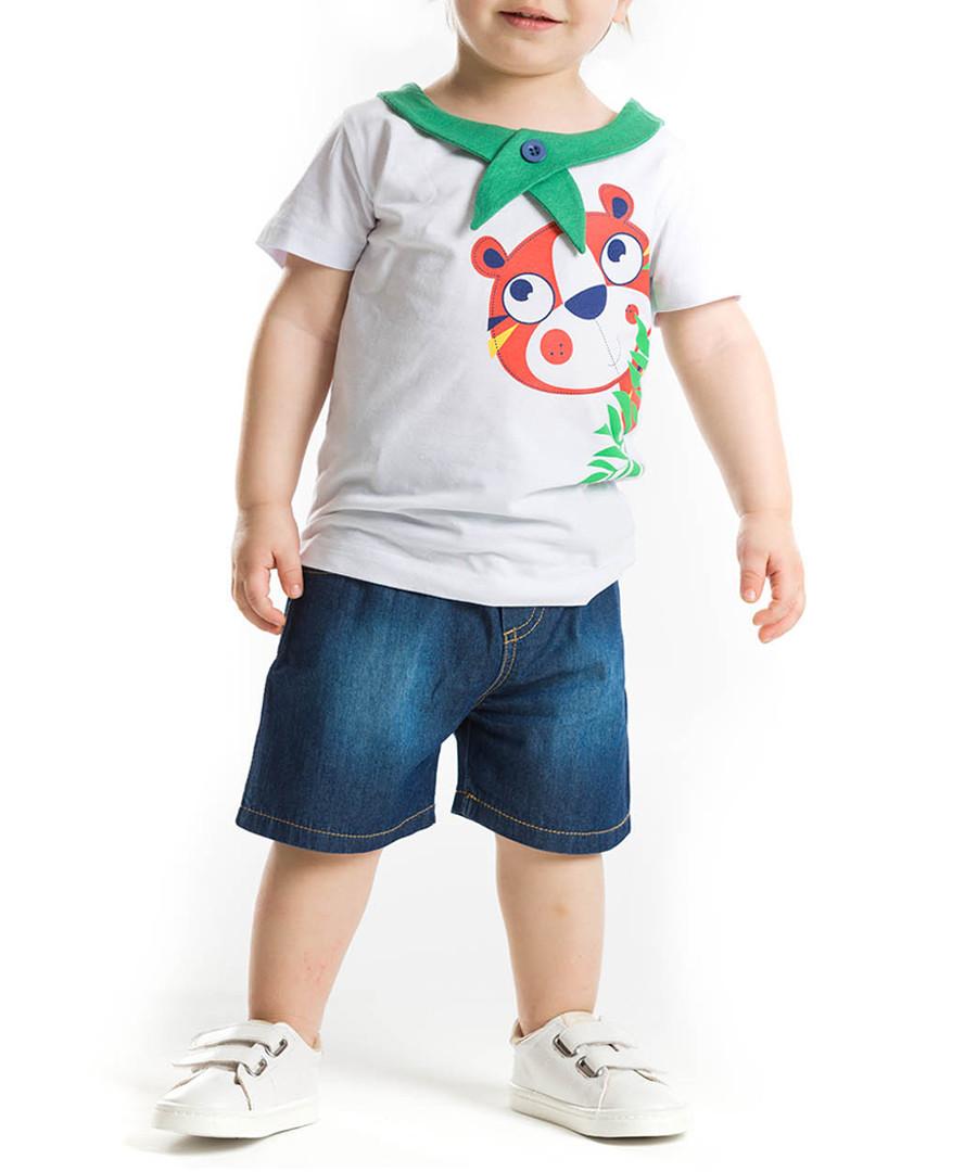 2pc Boy's Hide & Seek top & shorts sey Sale - denokids