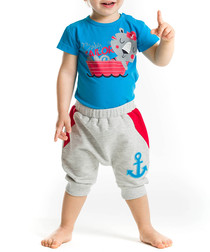 2pc Boy's Sailor Tiger top & trousers