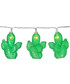 Green Cactus 10-LED light chain Sale - solar lighting Sale