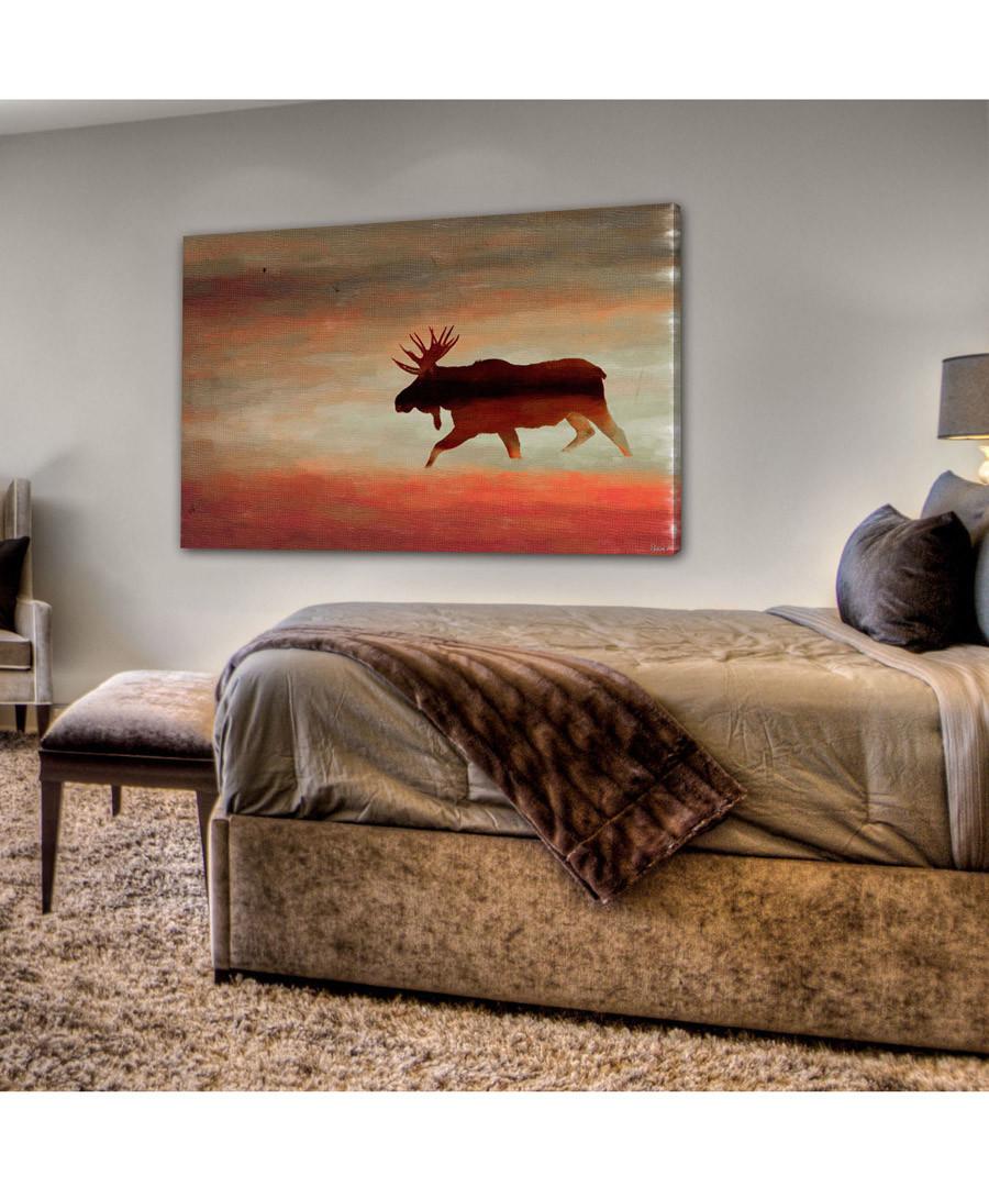 Moosehead canvas print 61 x 41cm Sale - parvez taj