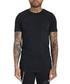 Squario black pure cotton T-shirt Sale - Avior Sale