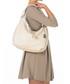 Beige leather slouch bag Sale - anna morellini Sale