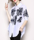 White & black embroidered shirt Sale - Kaimilan Sale