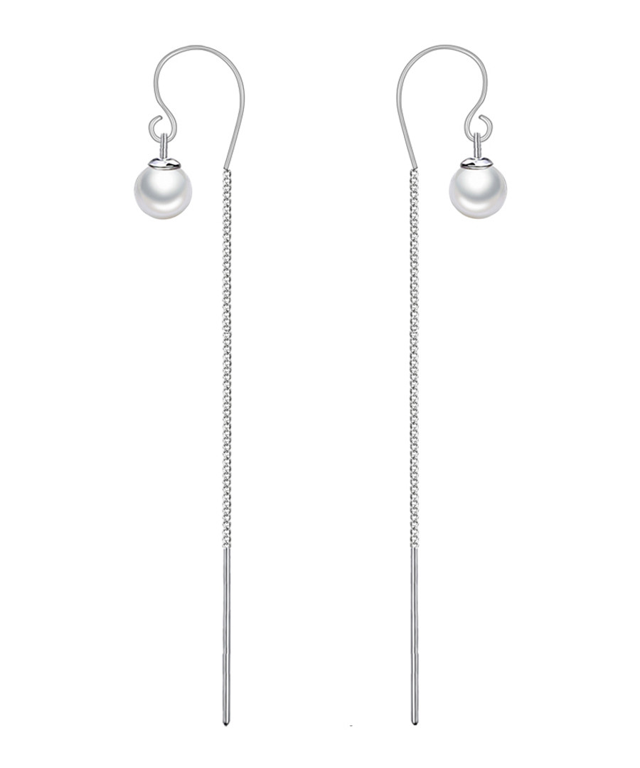 Palace Lanterns silver-tone earrings Sale - caromay