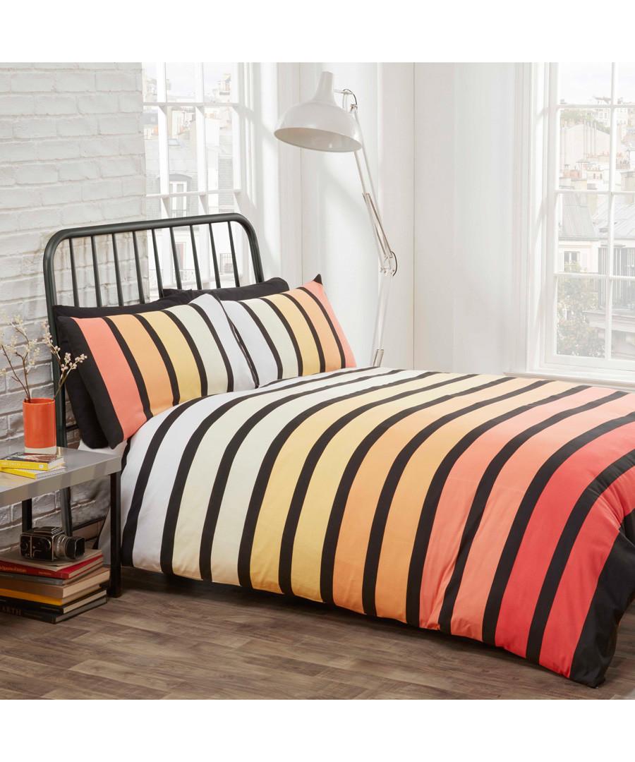Soho tropical striped single duvet set Sale - rapport