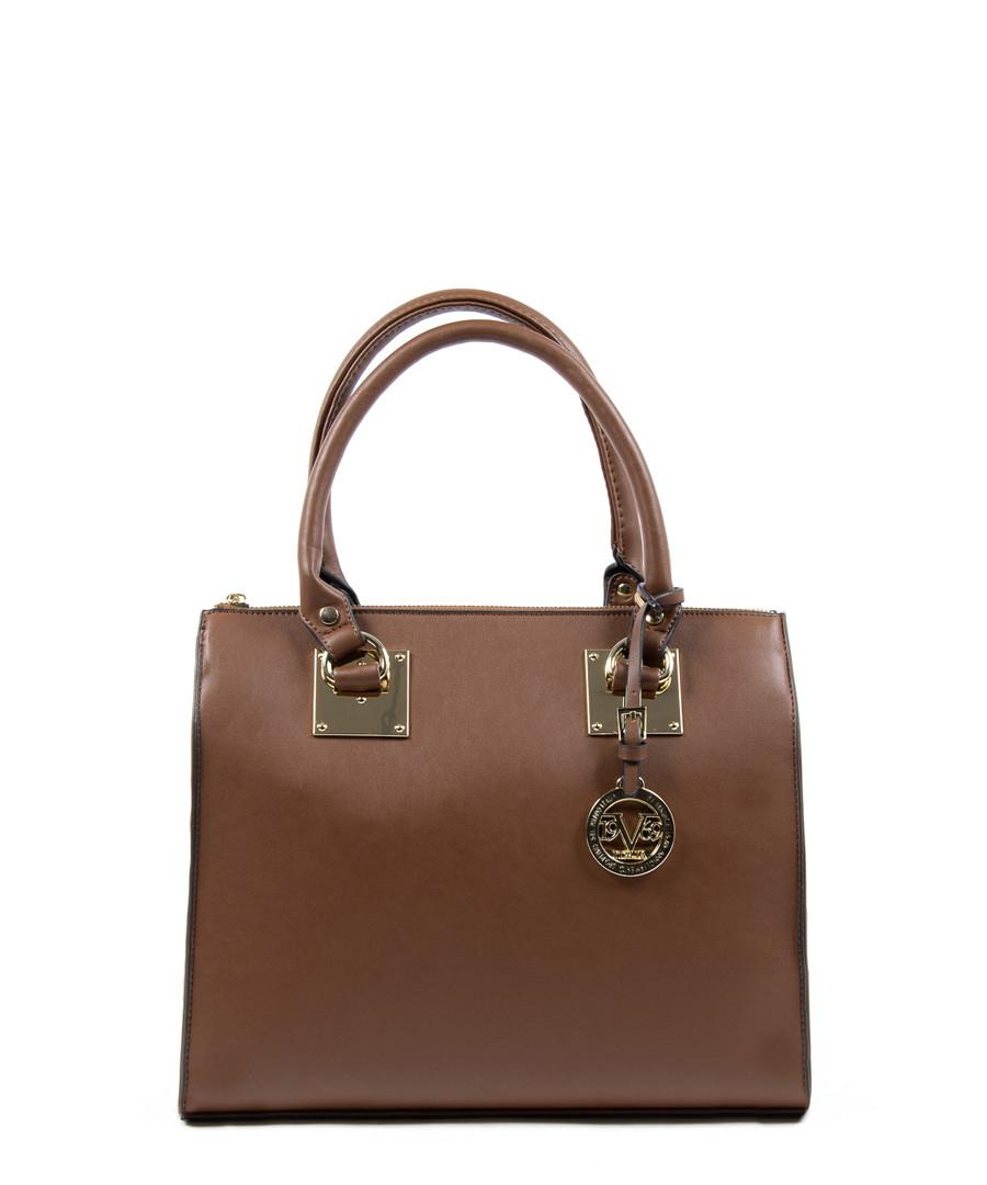 Brown square grab bag Sale - v italia by versace 1969 abbigliamento  sportivo srl milano italia c15f4125326d3