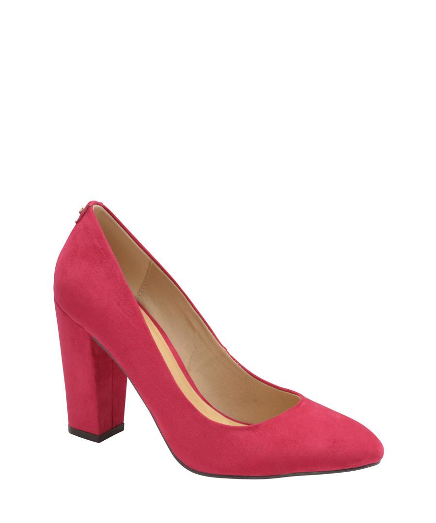 Fuchsia block heels Sale - ravel