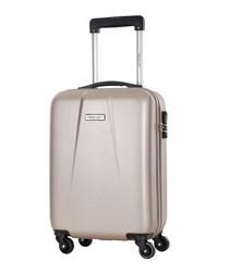 Creek beige spinner suitcase 46cm