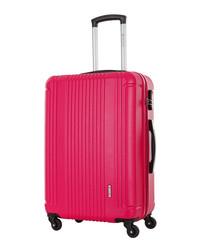 Antegria fuchsia spinner suitcase 60cm