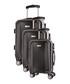 3pc Kirwee grey spinner suitcase nest Sale - platinium Sale