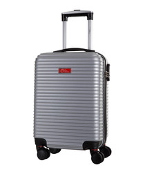 Shirley silver spinner suitcase 46cm
