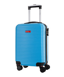 Shirley blue spinner suitcase 46cm