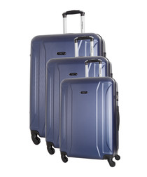 3pc Levy marine spinner suitcase nest