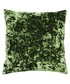 Roma green velvet filled cushion Sale - riva paoletti Sale