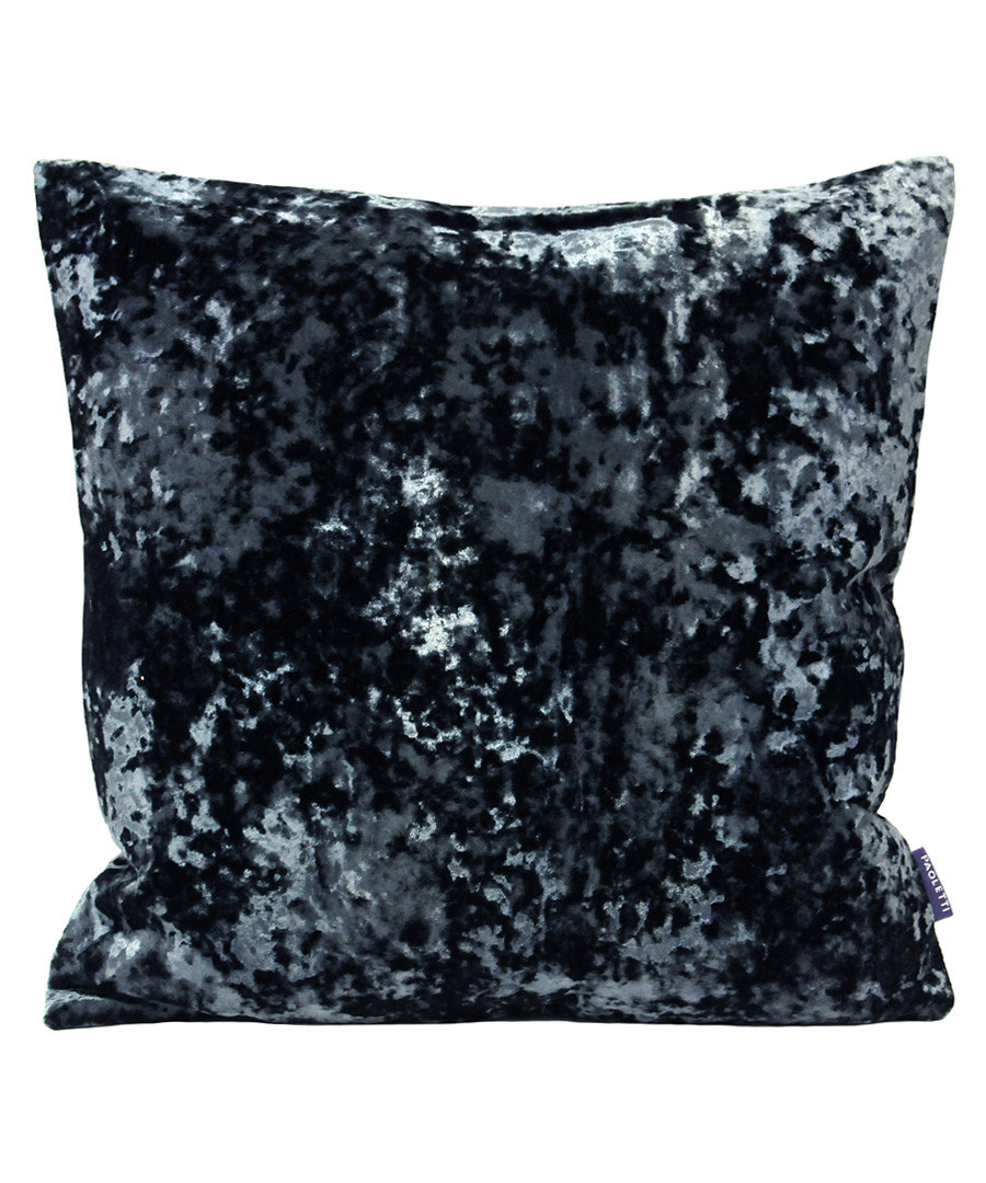 Roma ink velvet filled cushion Sale - riva paoletti