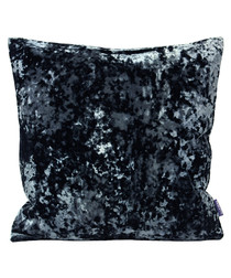 Roma ink velvet filled cushion