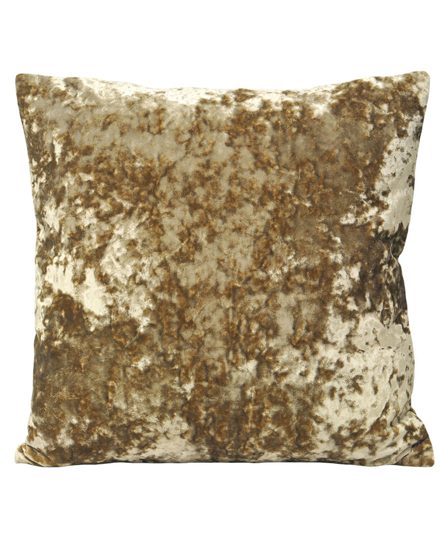 Roma oyster velvet filled cushion Sale - riva paoletti