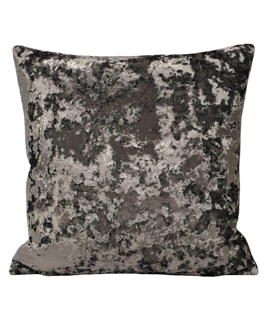 Roma petrol velvet filled cushion Sale - riva paoletti