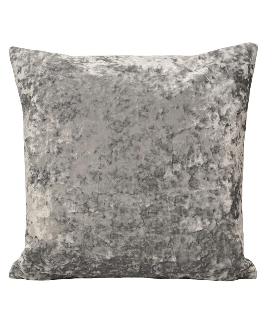 Roma silver velvet filled cushion Sale - riva paoletti