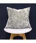 Roma silver velvet filled cushion Sale - riva paoletti Sale
