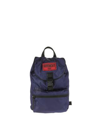 dcda63fdc5 Men s blue logo zip-detail backpack Sale - Givenchy Sale