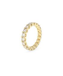 9ct gold diamond full eternity ring