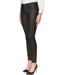 Ami black cotton skinny jeans